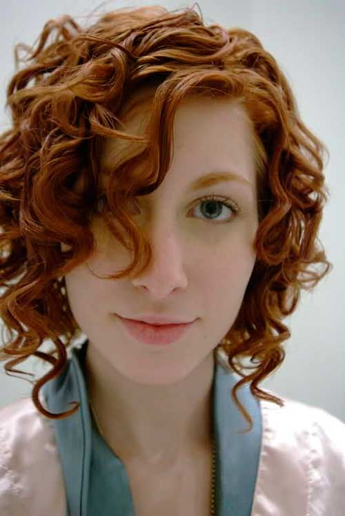 20 Curly Short Hair Pics For Pretty Ladies Short