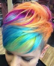 cool funky short hair styles