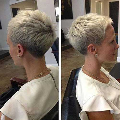 Very Fashionable Pixie Cuts For Ladies Short Hairstyles 2017