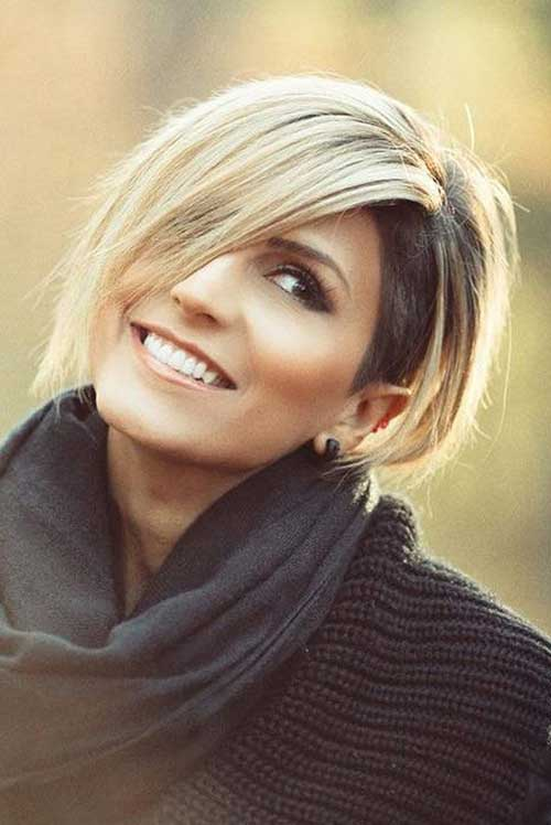 Chic Short Hair Ideas for Round Faces  Short Hairstyles