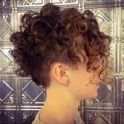 pixie cut curly hair short