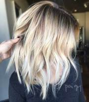 perfect short blonde hairstyles