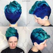 eye-catching blue hair color ideas