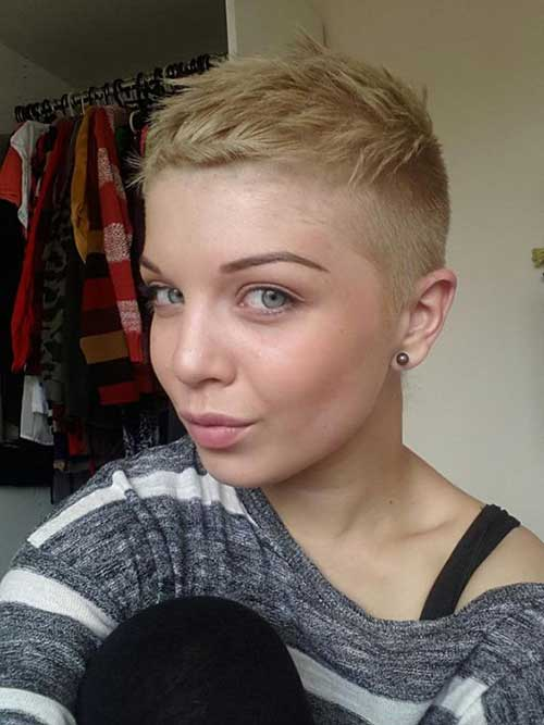 10 Super Short Hair Ideas On Pretty Ladies Crazyforus