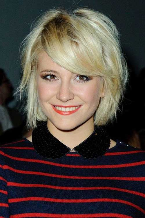 Celebrities With Short Blonde Hair