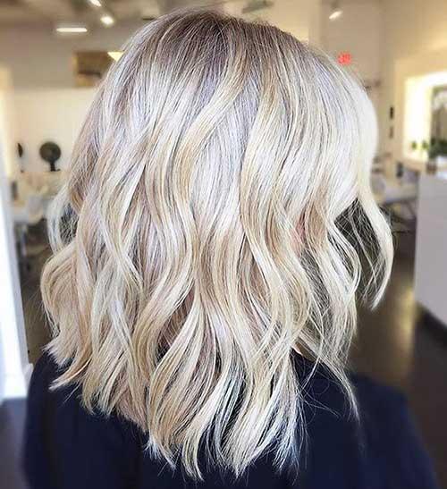 New Short Blonde Hair