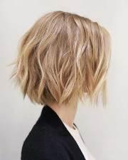 latest short choppy haircuts