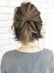 special updos short hairstyles