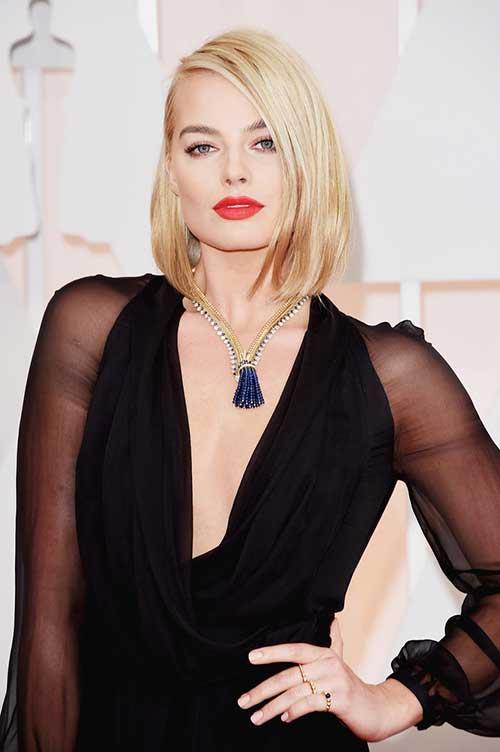 Margot Robbie with Short Hair