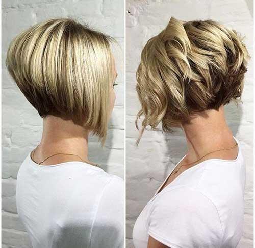 Neu Kreative Haar — Kurz Und Modernen Frisuren Für Stilvolle Damen