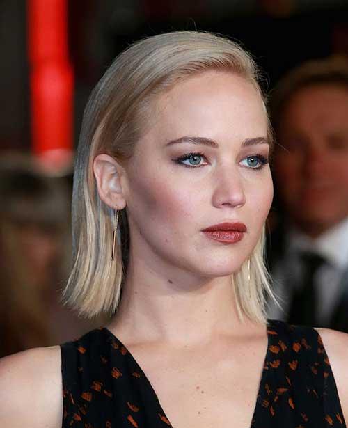 Jennifer Lawrence Short Blonde Hair