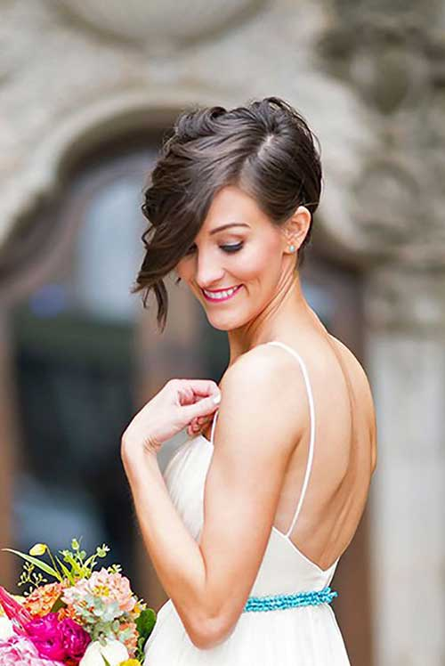Get Ready With Your Short Hair For Wedding Short