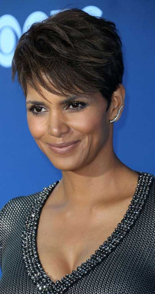 20 Best Halle Berry Pixie Cuts Short Hairstyles 2016 2017