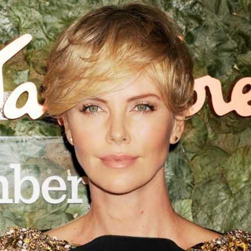 15 Charlize Theron Pixie Cuts Short Hairstyles 2017