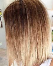 long bob ombre hair