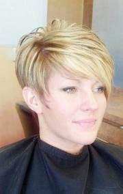 short hair women over