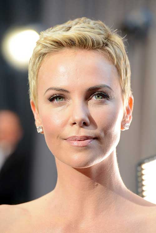 15 Charlize Theron Pixie Cuts Short Hairstyles 2016 2017