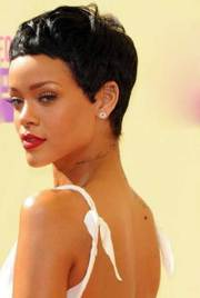 rihanna pixie cuts short