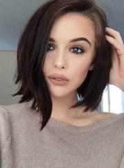 short dark haircuts