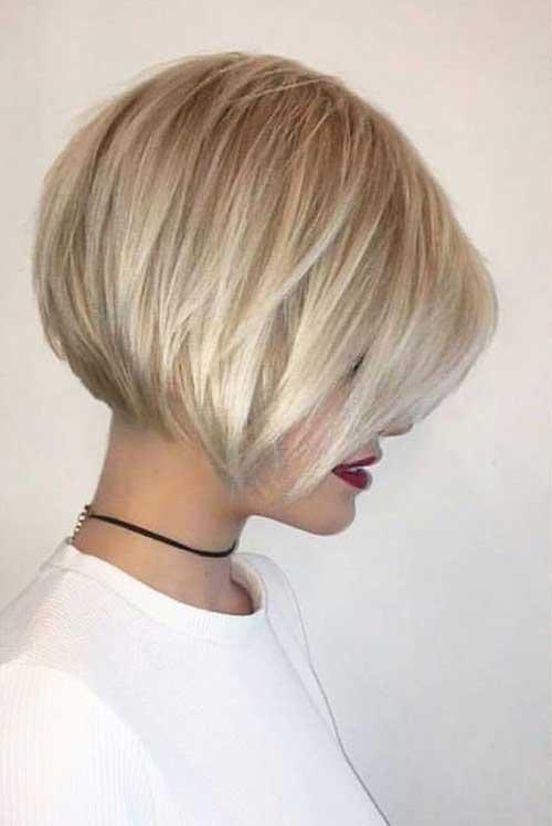 Short Blonde Hairstyles-19