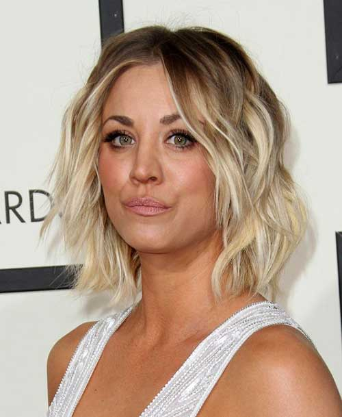 Kaley Cuoco Short Haircut