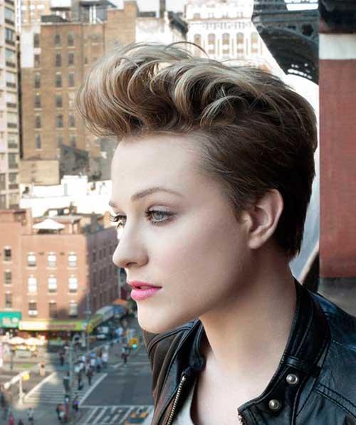 Evan Rachel Wood Pixie Hair Cut