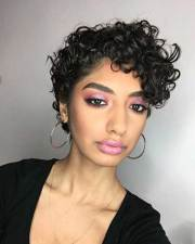 incredble curly pixie cuts