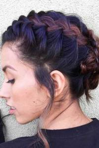 Lovable Short Braided Hairstyles for Ladies