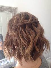 lovable short braided hairstyles