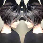 unique hair color styles short