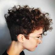cute and pretty curly short