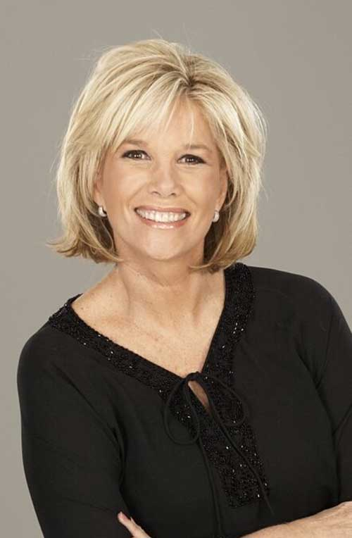 Elegant Short Haircuts For Older Women