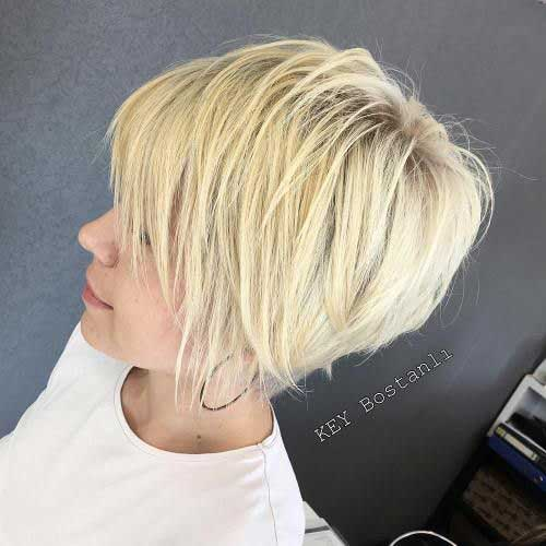 15 Dazzling Blonde Short Hairstyles - crazyforus
