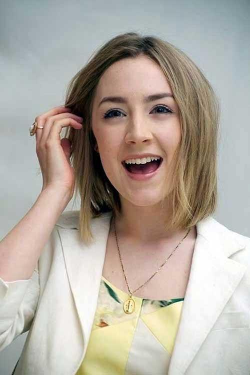 Saoirse Ronan Short Hairstyle