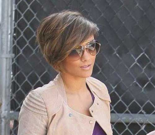 Layered Short Asymmetrical Haircut
