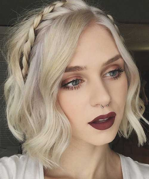 15 Good Looking Braided Short Hairstyles Crazyforus