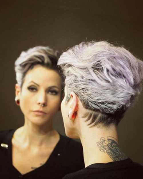 edgy short hairstyles and haircuts