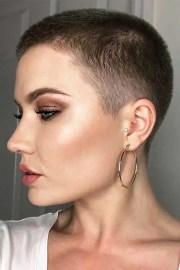 super short haircuts captivating