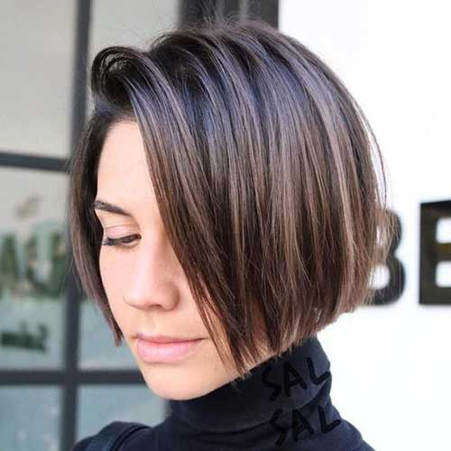 Brunette Short Hairstyle