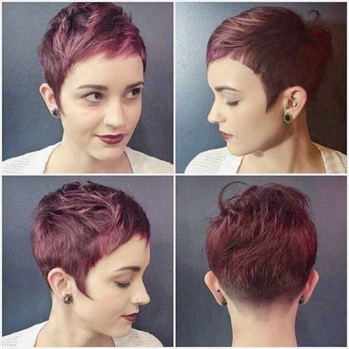 20 Edgy Short Hairstyles And Haircuts