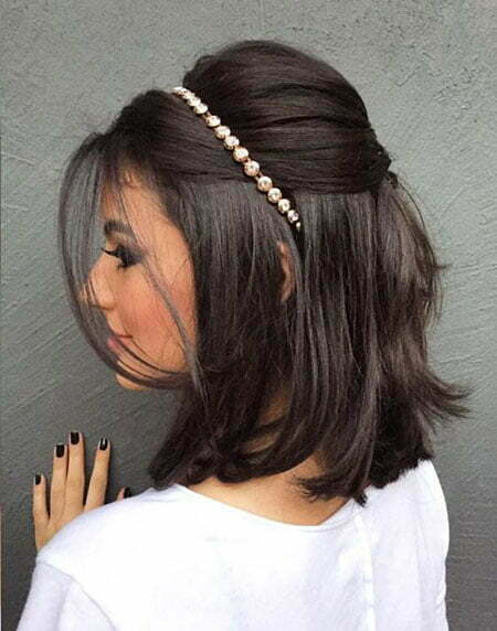 09c38e9ad1d1a 23 Bridal Hairstyles for Short Hair - crazyforus