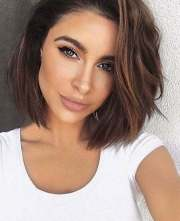 popular short brunette hairstyles