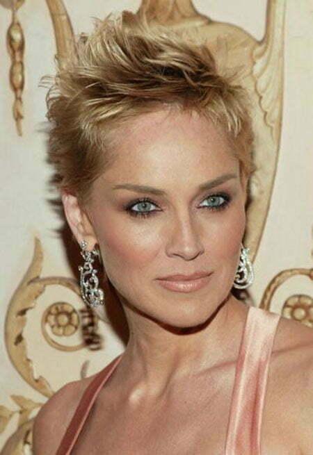 23 Sharon Stone Short Hairstyles
