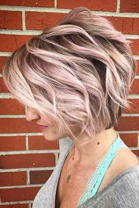 Layered Hair, Balayage Blonde Short Hairtyles