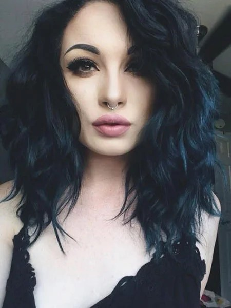 12 of the Best Short Blue Hairstyles