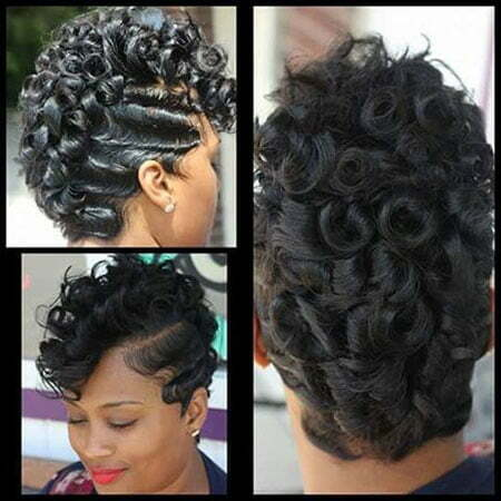 Short Haircut For Long Face African American Modele Tresse