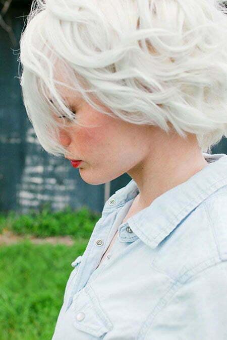 Hair White Wedding Color