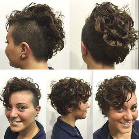 8- Side and Back Shaved Undercut