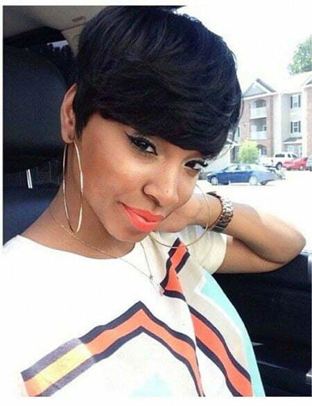 Short Haircuts For Daring Black Women Crazyforus