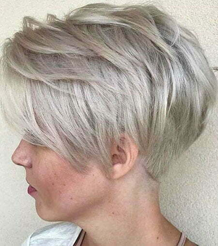 Pixie Cut Blonde Ash